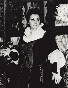 Montserrat Caballé 1969, photo libre de droits