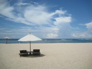 Une plage près de l'Amanusa