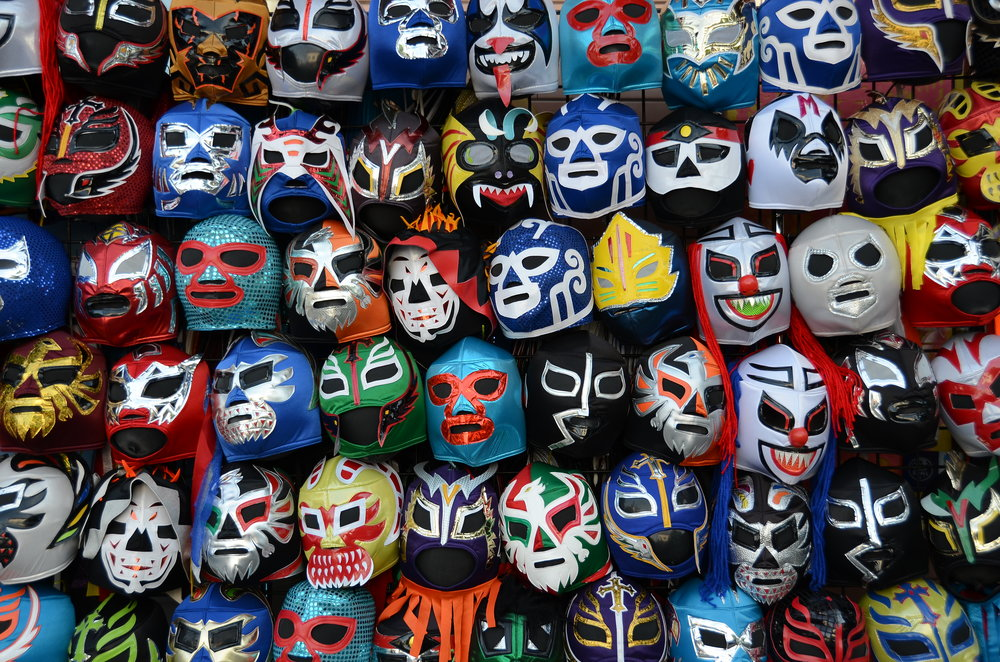 Masques de lucha libre, Mexique