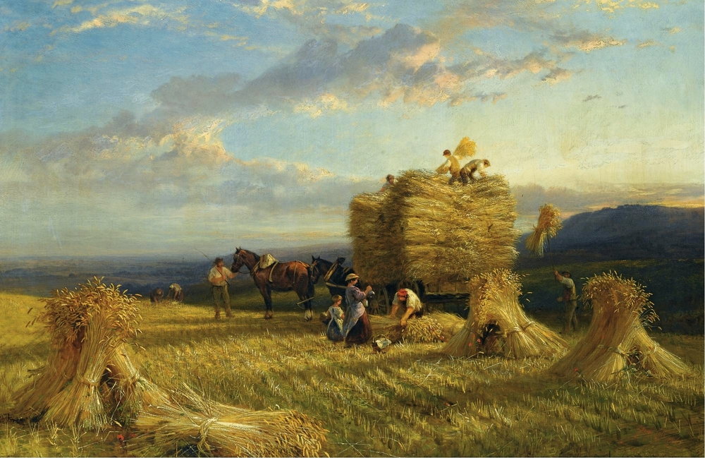 George Cole, The Last Load, 1865, Sotheby's