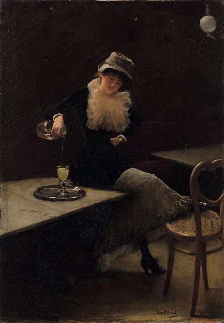 Jean Béraud, l'absinthe