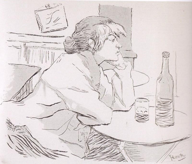 Toulouse-Lautrec, Gueule de bois