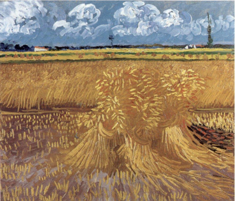 Vincent van Gogh, Champs de blé juin 1888 huile sur canevas, Honolulu Museum of Art