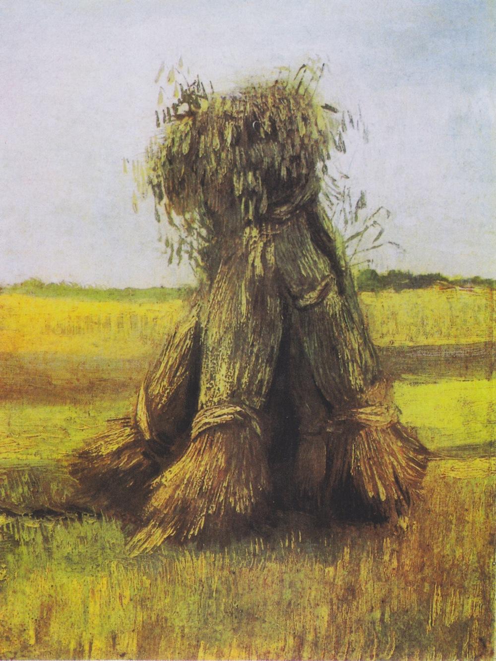 Vincent van Gogh, Gerbes de blé, juillet-août 1885, Kröller-Müller Museum, Otterlo
