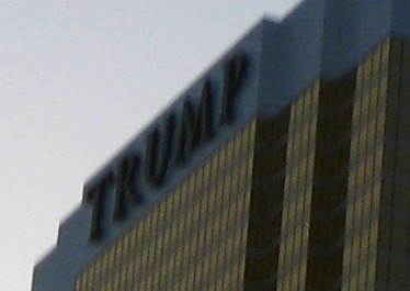 Las Vegas, Trump Tower (détail 2)