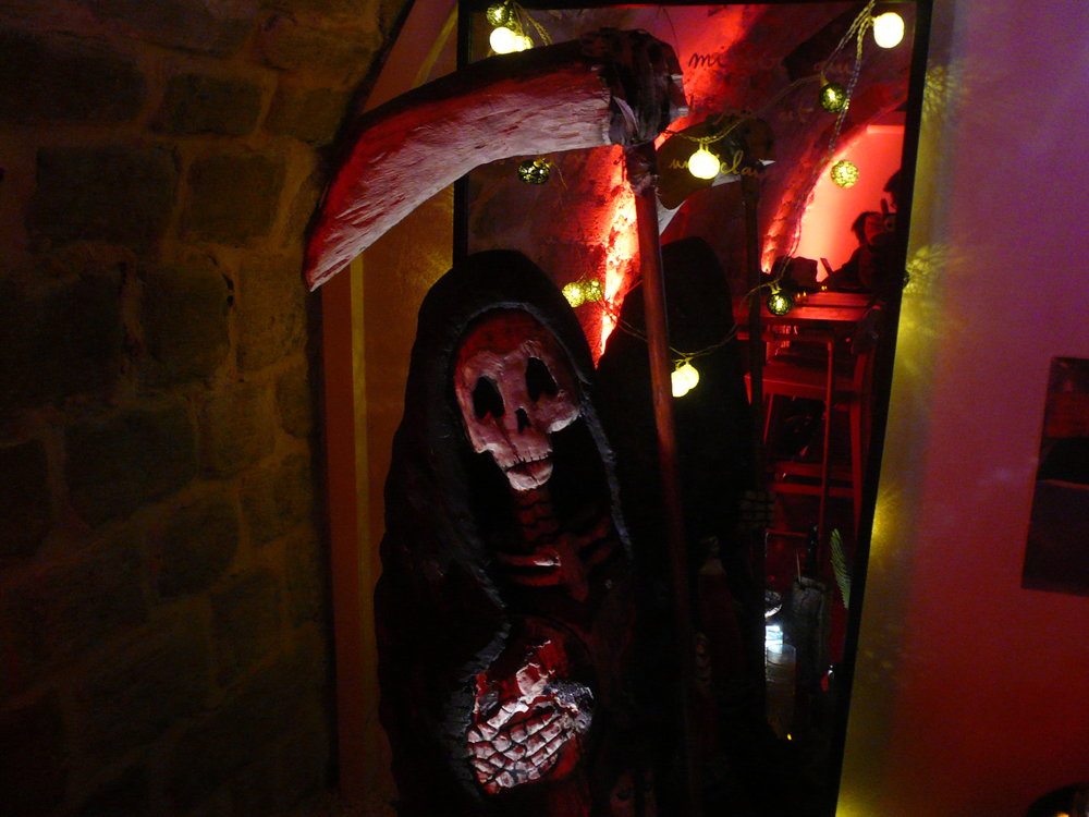 Santa Muerte | Thierry Bellaiche, Impromptus, Blog-Site